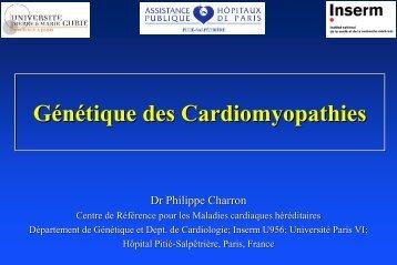 Génétique des Cardiomyopathies - Master