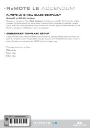 Remote LE Addendum.pdf - Novation