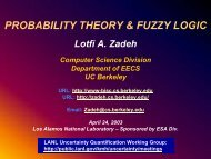 Probability theory and fuzzy logic - Kenneth Hanson - Home page