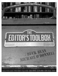 The Editor's Toolbox - Stthomas - University of St. Thomas