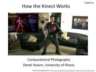 How the Kinect Works