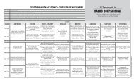 programación académica / jueves 8 de noviembre - Corporación de ...