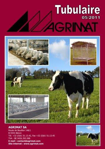 Le cornadis AGRI 2000, breveté, est un système unique - Agrimat.Com