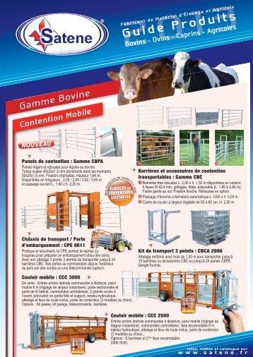 Guide produits Satene 2013
