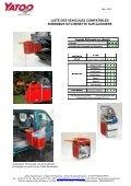 Catalogue des véhicules compatibles Yatoo - Mai 2012 - Page 7