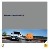 NOUVEAU RENAULT MASTER - Renault Maroc