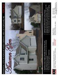 Brochure for Autumn Glen - King Real Estate