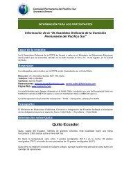 Información para los Participantes.