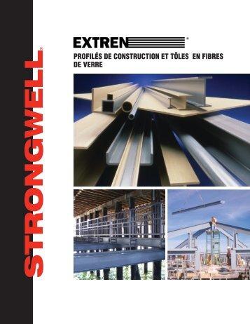 PROFILÉS DE CONSTRUCTION ET TÔLES EN ... - Strongwell