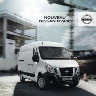 NISSAN NV400 Brochure Fr