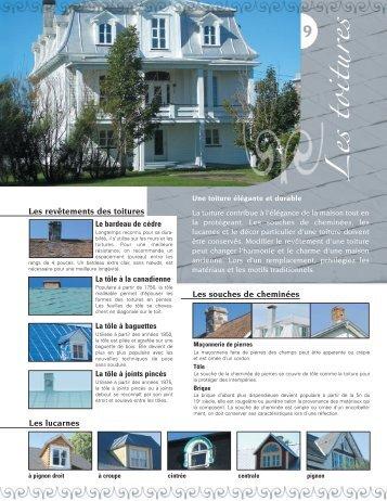 Les toitures - MRC de Rivière-du-Loup
