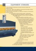 Cisailles guillotines hydrauliques - Haco - Page 3