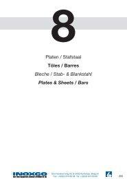 Platen / Stafstaal Tôles / Barres Bleche / Stab ... - Gillain & Co