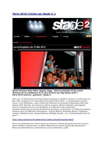 Paris 2018 s'invite sur Stade 2.pdf