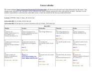 the full ECE 210 Summer 2013 calendar. - Course Website Directory