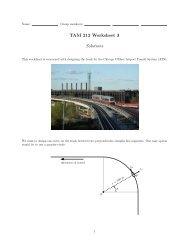 TAM 212 Worksheet 3 Solutions