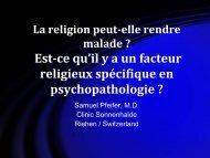 La religion peut-elle rendre malade - ACC France