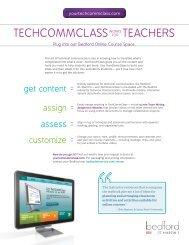 Download the TechCommClass promotional flyer