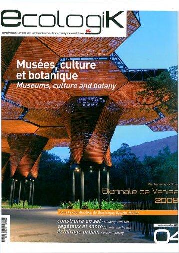 EcologiK n°04 août 2008 - Bruno Mader