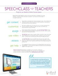 Download the SpeechClass promotional flyer