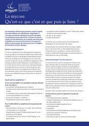 Télécharger le feuillet PDF - Info-Allaitement
