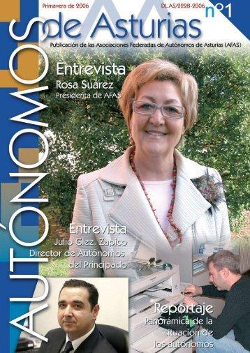 Revista Autónomos de Asturias Nº1 - Afas