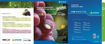 Folleto Insecticidas en Vides - Anasac
