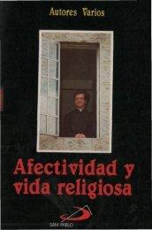 Afectividad y vida religiosa