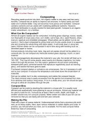 Composting - WSU Extension Counties - Washington State University