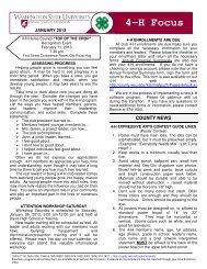 010113 - WSU Extension Counties - Washington State University