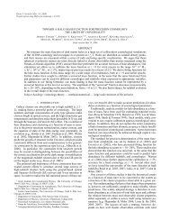Updated version of the manscript (PDF) - Center for Cosmology and ...