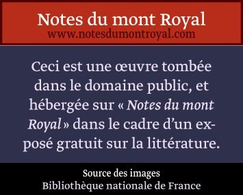 Chou- King - Notes du mont Royal