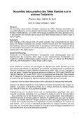 Nouvelles découvertes des Têtes Rondes sur le ... - StoneWatch - Page 2