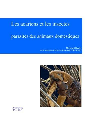 Les acariens et les insectes - IVSA Tunisia