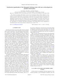 Semiclassical quantization of the diamagnetic hydrogen atom with ...