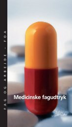Medicinske fagudtryk - FOA