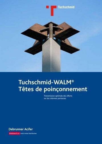 Tuchschmid-WALM® Têtes de poinçonnement - Debrunner Acifer