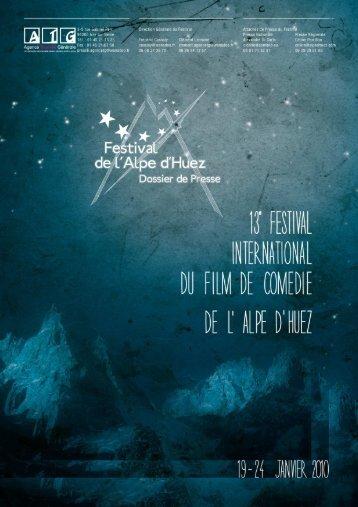Dossier de presse 2010 def - Festival de l'Alpe d'Huez