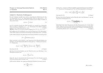 48k - 1. Institut für Theoretische Physik
