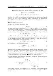 59k - 1. Institut für Theoretische Physik - Universität Stuttgart