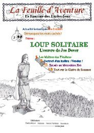Loup Solitaire - FBJDR