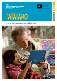 Cultural Competencies for Teachers of Māori Learners - Ministry of ...