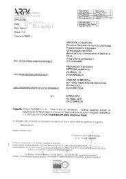 (AIA) del - Comune di Brescia