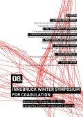INNSBRUCK WINTER SYMPOSIUM FOR COAGULATION - Page 3