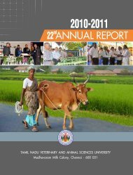 Annual Report - Tamil Nadu Veterinary and Animal Sciences ...
