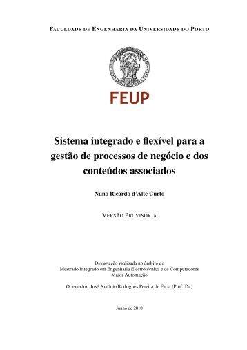 Versão Provisória da Dissertação - Faculdade de Engenharia da ...
