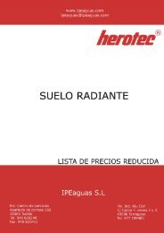 Suelo Radiante - IPEaguas