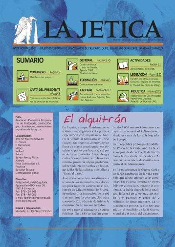Revista La Jetica 24. - Apefonca.org