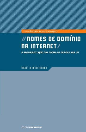 NOMES DE DOMÍNIO NA INTERNET: A ... - Centro Atlântico