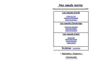 Noeuds Marins / PDF - BPC Tonnerre